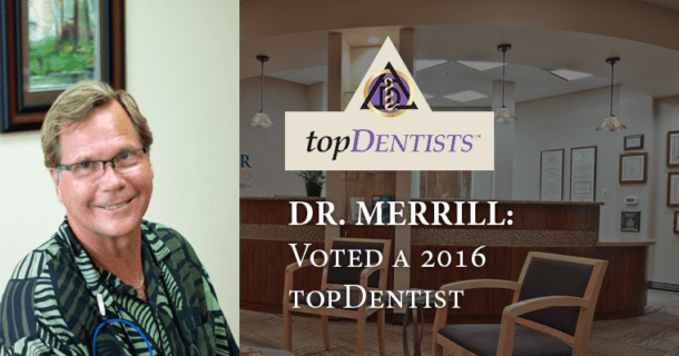 dentist in huntersville dr. merrill one of 2016 top dentists