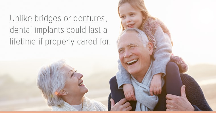 Many people have found dental implants to be the right solution for missing teeth.
