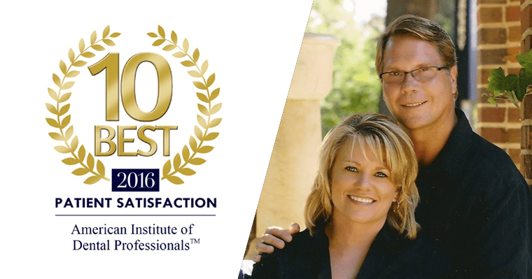 Dr. Merrill of North Star Dentistry for Adults voted Top 10 Dental Professional for Patient Satisfaction