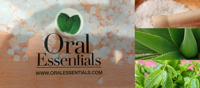 Oral Essentials is a natural mouthwash that uses the power of Dead Sea Salt