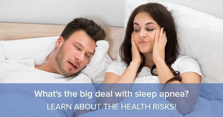 What's the big deal with Sleep apnea?