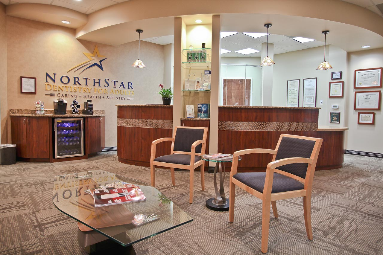 Your Dentist in Huntersville NC Reception Area