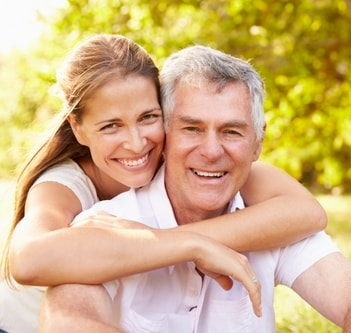 A couple with great smiles thanks to composite bonding