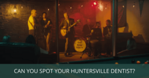 Your rock star dentist, Dr. Merrill appearing in his sons' new music video by The Nude Party