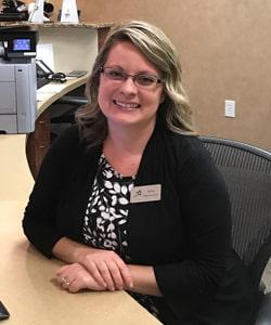 Ashley our Huntersville Dental Administration and Front Desk