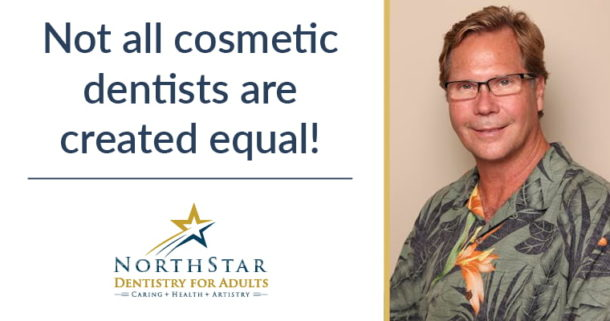 Not all cosmetic dentists are created equal!