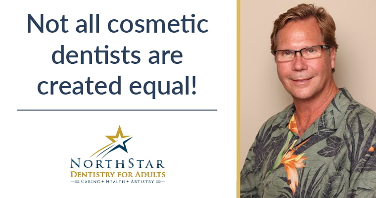 Not all cosmetic dentists are created equal! Dr. John Merrill is an AACD Accredited Cosmetic dentist in Huntersville, NC