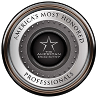 Americas Most Honored Professionals Badge