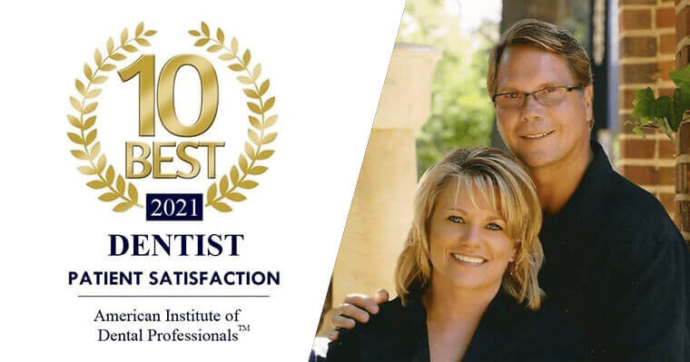 Dr. Merrill Voted Top 10 Dental Professional for Patient Satisfaction